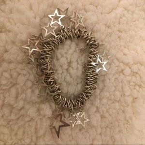Vintage star stretch bracelet